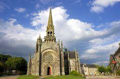 La iglesia de Kernascléden, Francia