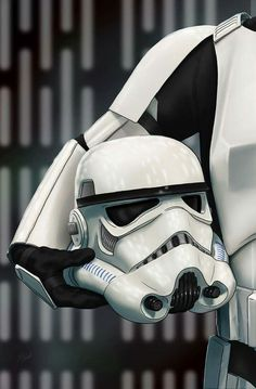 Helmet Series: Stormtrooper  by Scott Zambelli