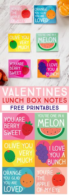 These fruity Valenti