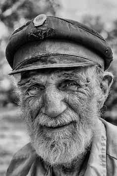 This young man gets the flu shot every year! He's only 18! Railway man mono wider | Flickr - Photo Sharing!