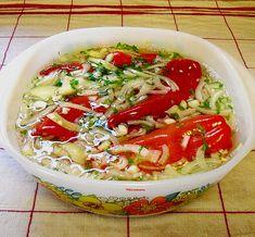 Eingelegte rote Spitzpaprika nach ungarischer Art (Rezept mit Bild) | Chefkoch.de