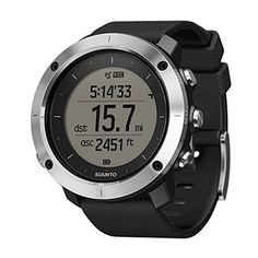Suunto Traverse Black GPS Outdoor Watch - * Find out more about the great product at the image link. (This is an affiliate link) Sport Watches, Cool Watches, Watches For Men, Gps Watches, Apple Computer, Fitbit, Best Sports Watch, Cheap Golf Clubs, Golf Gps Watch
