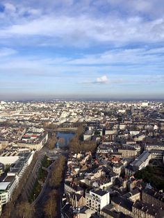 Aerial view of the river - see in Nantes