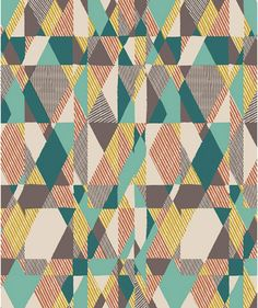Art Gallery fabrics   Tricot Artisan Intertwill Patience mozaiek