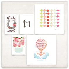Nursery III Inspiration Board, curated by Kirsten - 6th street Design School at Minted