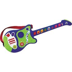 Fisher Price Teachin Tunes Guitar by Fisher Price. $29.95. The Fisher-Price Teachin' Tunes Guitar has 3 ways to play! Follow the lights for learning to play 8 different tunes. One note per drum play for beginners. Free play mode to make your own music.