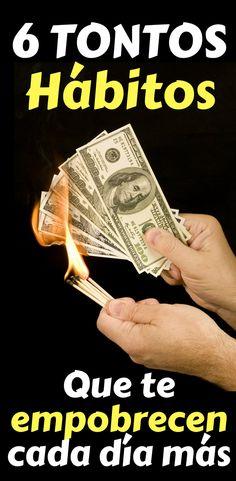 Si quieres controlar tu dinero y hacer que se multiplique, debes evitar estos 6 hábitos tontos que te empobrecen cada día más.