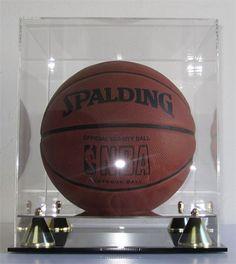 Basketball/Soccer Ball Display Case Holder 98% « Store Break