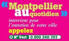Ville de Montpellier-Téléservice local - Montpellier au Quotidien