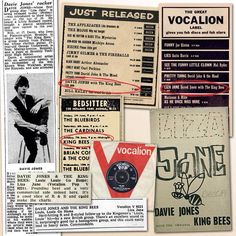5th June 1964, 'Liza Jane' became the first recording to be released as a single by David Bowie (but under the name Davie Jones with the King Bees). Despite promoting the single on the television shows Juke Box Jury, Ready Steady Go! and The Beat Room, and receiving good radio coverage, the single sold poorly and the band was subsequently dropped from the label Vocalion Pop. More on Bowie: http://www.thisdayinmusic.com/pages/david_bowie