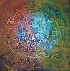 Love the play of light and color wheel, as well as cyclical shape -Ana