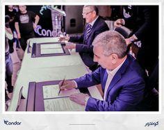 Condor Electronics, leader du marché algérien des produits électroniques, électroménagers et multimédia et la société My HD ont signé  samedi 20 mai 2017 à Bordj Bou Arreridj un contrat pour le lancement du premier bouquet PayTV by Condor, en Algérie. #Condor  #Algérie #PayTV #ElectronicsStore