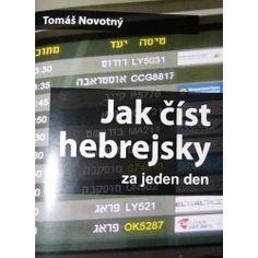 Jak číst hebrejsky za jeden den - Tomáš Novotný