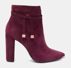 Ted Baker Qateana Trendy Shoes, Cute Shoes, Me Too Shoes, Ted Baker Shoes, Ted Baker Fashion, Kawaii Fashion, Curvy Fashion, Womens Fashion, Shades Of Burgundy