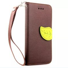 Leaf Design PU Leather Case For Apple iphone 6 6S Plus 5.5 inch Cover Wallet Card Holder Phone Bags case