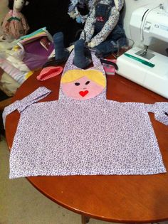 More of the kiddies apron