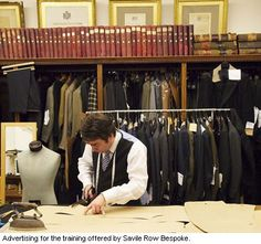the best tailored suits hands down Master Tailor, Tailor Shop, Spin, Savile Row, Tailored Shirts, Bespoke Tailoring, Working People, Dapper Men, Suit And Tie