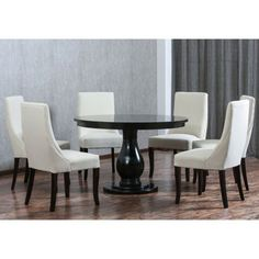 $1,500 Stacey 7 Piece Dining Set