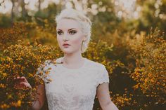 Ethereal Bridal Beauty Shoot for The Bride's Tree - wedding makeup
