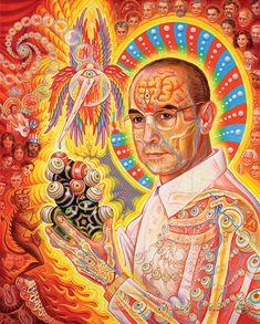 St. Albert and the LSD Revelation Revolution - Alex Grey Allyson Grey 8f665da10c0