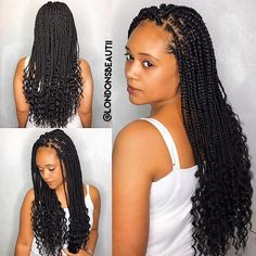 Goddess Single Plaits done by London's Beautii in Bowie, Maryland www.styleseat.com/v/londonsbeautii @londonsbeautii https://www.instagram.com/londonsbeautii/