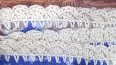 Crochet edgings for fleece