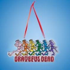 #GRATEFULDEAD™ MULTI-COLOR #SKELETON ORNAMENT Item # GD2142 #gratefuldeadornaments