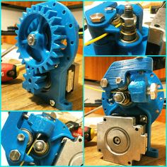 Something we liked from Instagram! Extruder for 3d printer #printed! #project #frame #Test #extruder #3d #printer #make #toy #mechanic #engineering #3dprinter #arduino #try #mega #motor #extruder #machinist #stepper #3dprinter #blue #diy #pla #meccanica #gear #gearbox #filament #hobby by pzlu86 check us out: http://bit.ly/1KyLetq