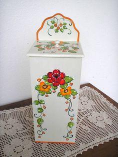 Peça em mdf - pintura decorativa bauernmalerei R$ 46,00