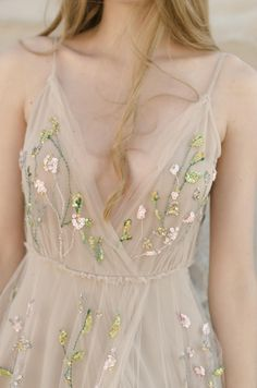 8 Stunning Floral Wedding Dresses   Intimate Weddings - Small Wedding Blog - DIY Wedding Ideas for Small and Intimate Weddings - Real Small Weddings