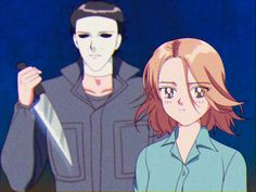 Big Scary, Horror Icons, Michael Myers, Kawaii, Boy Or Girl, Shit Happens, Halloween, Anime, Swag