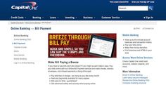Capital One Bill Pay