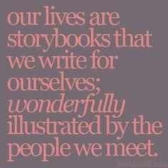 thankfully, my story is wonderfully illustrated :)