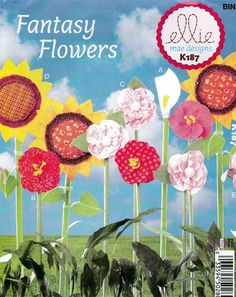 Bring the garden indoors with these beautiful decorative flow Dress Sewing Patterns, Craft Patterns, Kwik Sew, Flower Center, Simplicity Patterns, Camellia, Calla Lily, Flower Decorations, Hibiscus