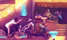 Concept art is a form of illustration used to convey an idea. These kinds of ideas used in films, video games, animations & comic books in order to improve the visual concept before put into the final product.This Inspirational post is all about how a concept artist can blow your mind with his imagination.So, just imagine Pakistan inside a Sci-Fi/fantasy world and get ready to be amazed.
