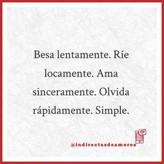 Asi de simple #indirectas #frases #amor #frasesdeamor