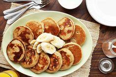 Save Print Teff Banana Pancakes Author:Leslie Cerier Serves:4-6  This basic pancake recipe is