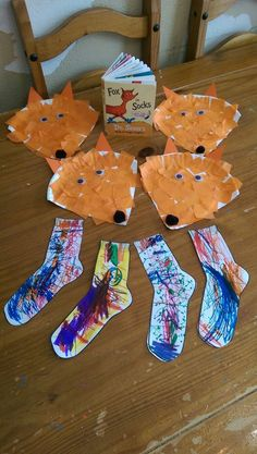 Cute followup to Dr. Seuss Fox in Socks! Photo only.