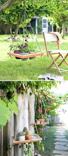 Ready to create an outdoor oasis?  First step: DIY planters!  Here's how to create this DIY hanging planter!