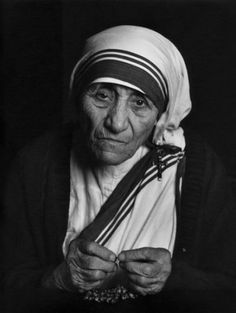 Mother Teresa  Photograph by Yousuf Karsh, 1988