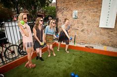 BizBash Event Idea:  Play Bocce Ball   Warby Parker's Bocce Social from 10 Summer Street Promotions