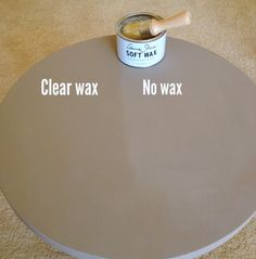 Annie Sloan Clear Soft Wax brings to life your paint color - Annie Sloan Chalk Paint Coco