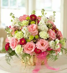 1800Flowers - Mixed Basket Arrangement for Sympathy - Mixed Basket... - http://yourflowers.us/?p=3486