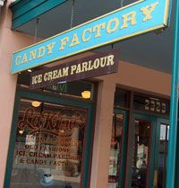 Mmmmm....candy and ice cream! And don't forget the taffy! LaKing's on The Strand in Galveston