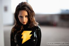 Character: Black Mary Marvel (Mary Batson) / From: DC Comics 'Countdown' / Cosplayer: Riki 'Riddle' LeCotey (aka Riddle's Messy Wardrobe, aka Riddle1)