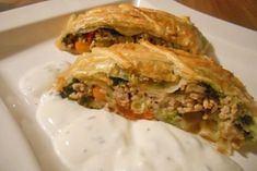 Austrian Recipes, Appetizer Dips, Spanakopita, Deli, Mozzarella, Food And Drink, Low Carb, Cooking Recipes, Yummy Food