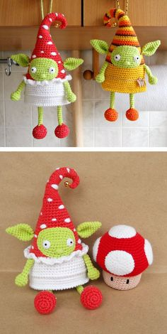 Crochet a cute fairy elf doll. The pattern contains photos that explain all difficult details. But if you have some questions on this tutorial you can always write them in comments.