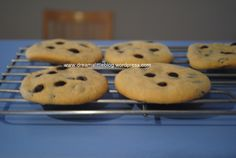 choc-chip-cookies-thermomix-recipe Best Choc Chip Cookies, Bellini Recipe, Biscuit Cookies, Vanilla Essence, Cooking With Kids, Nom Nom, Biscuits, The Best, Muffin