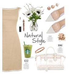 """""""Natural Style"""" by irixiketa ❤ liked on Polyvore featuring Gianvito Rossi, Louis Vuitton, LSA International, Martha Stewart, Charlotte Russe and Bobbi Brown Cosmetics"""
