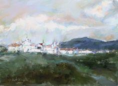 Mina's Gerais. Digital painting oil on canvas. Gilberto De Martino